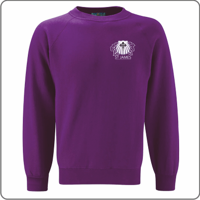 St James School Sweatshirt