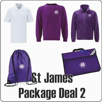 St James School Uniform Package Deal 2
