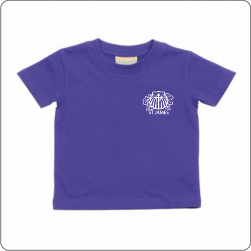 St James nursery t-shirt
